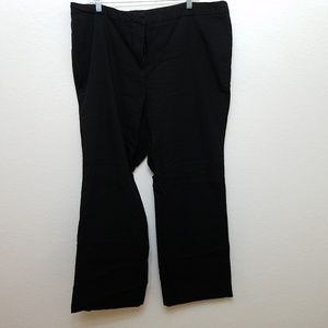 Avenue stretchy trouser boot cut career pants